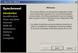 Synchronet Configuration Wizard