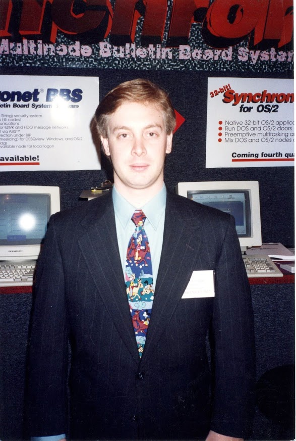 Allen at ONE BBSCON 1993